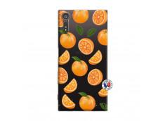 Coque Sony Xperia XZ Orange Gina
