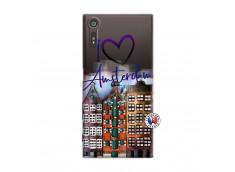 Coque Sony Xperia XZ I Love Amsterdam