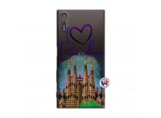 Coque Sony Xperia XZ I Love Barcelona
