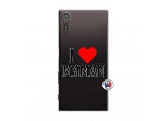 Coque Sony Xperia XZ I Love Maman