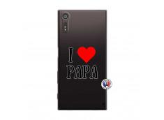 Coque Sony Xperia XZ I Love Papa