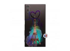Coque Sony Xperia XZ I Love Paris