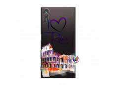 Coque Sony Xperia XZ I Love Rome