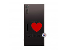 Coque Sony Xperia XZ I Love Toulouse