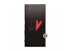 Coque Sony Xperia XZ I Love You
