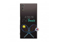 Coque Sony Xperia XZ Je Peux Pas J Ai Tennis