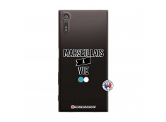 Coque Sony Xperia XZ Marseillais à Vie