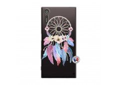 Coque Sony Xperia XZ Multicolor Watercolor Floral Dreamcatcher