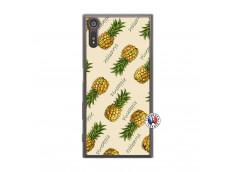 Coque Sony Xperia XZ Sorbet Ananas Translu
