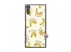 Coque Sony Xperia XZ Sorbet Banana Split Translu