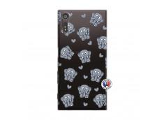 Coque Sony Xperia XZ Petits Elephants