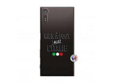 Coque Sony Xperia XZ Rien A Foot Allez L'Italie
