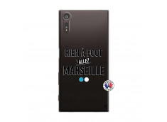 Coque Sony Xperia XZ Rien A Foot Allez Marseille