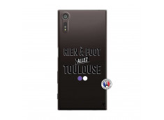 Coque Sony Xperia XZ Rien A Foot Allez Toulouse