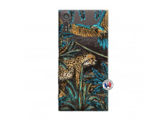 Coque Sony Xperia XZ Leopard Jungle