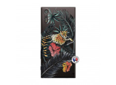 Coque Sony Xperia XZ Leopard Tree