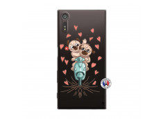 Coque Sony Xperia XZ Puppies Love