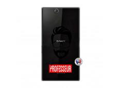Coque Sony Xperia Z Ultra Apelle Moi Professeur