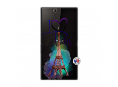 Coque Sony Xperia Z Ultra I Love Paris