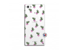 Coque Sony Xperia Z1 Compact Cactus Pattern