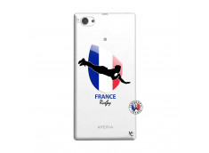Coque Sony Xperia Z1 Compact Coupe du Monde de Rugby-France