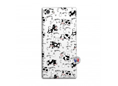 Coque Sony Xperia Z1 Compact Cow Pattern