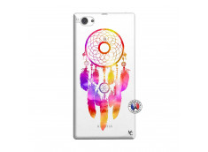 Coque Sony Xperia Z1 Compact Dreamcatcher Rainbow Feathers