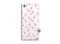 Coque Sony Xperia Z1 Compact Flamingo