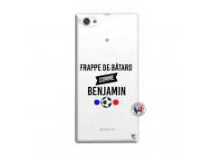 Coque Sony Xperia Z1 Compact Frappe De Batard Comme Benjamin