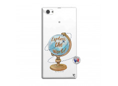 Coque Sony Xperia Z1 Compact Globe Trotter