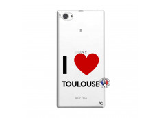 Coque Sony Xperia Z1 Compact I Love Toulouse