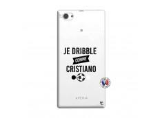Coque Sony Xperia Z1 Compact Je Dribble Comme Cristiano
