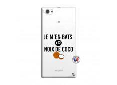 Coque Sony Xperia Z1 Compact Je m'en bats Les Noix De Coco