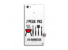 Coque Sony Xperia Z1 Compact Je Peux Pas J Ai Barbecue