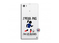 Coque Sony Xperia Z1 Compact Je Peux Pas J Ai Les Bleues Maillot