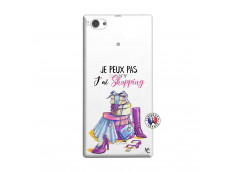 Coque Sony Xperia Z1 Compact Je Peux Pas J Ai Shopping