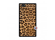 Coque Sony Xperia Z1 Compact Leopard Style Noir