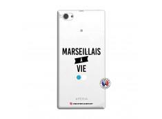 Coque Sony Xperia Z1 Compact Marseillais à Vie