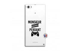 Coque Sony Xperia Z1 Compact Monsieur Mauvais Perdant