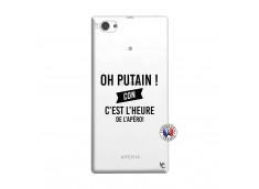 Coque Sony Xperia Z1 Compact Oh Putain C Est L Heure De L Apero
