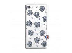 Coque Sony Xperia Z1 Compact Petits Elephants