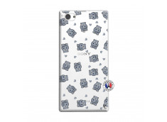 Coque Sony Xperia Z1 Compact Petits Hippos