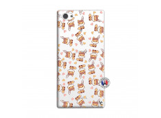 Coque Sony Xperia Z1 Compact Petits Renards