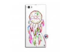 Coque Sony Xperia Z1 Compact Pink Painted Dreamcatcher