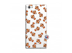 Coque Sony Xperia Z1 Compact Petits Poissons Clown