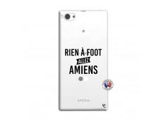 Coque Sony Xperia Z1 Compact Rien A Foot Allez Amiens