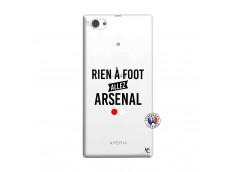 Coque Sony Xperia Z1 Compact Rien A Foot Allez Arsenal