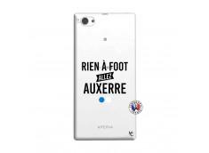 Coque Sony Xperia Z1 Compact Rien A Foot Allez Auxerre