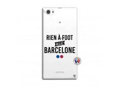 Coque Sony Xperia Z1 Compact Rien A Foot Allez Barcelone