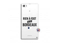 Coque Sony Xperia Z1 Compact Rien A Foot Allez Bordeaux